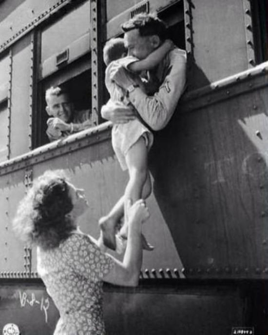 Asker uğurlaması, 1940