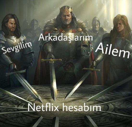Netflix boşta mı?