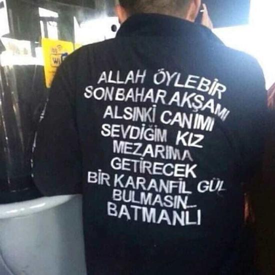 Gotham temalı yeni gömlek kreasyonu