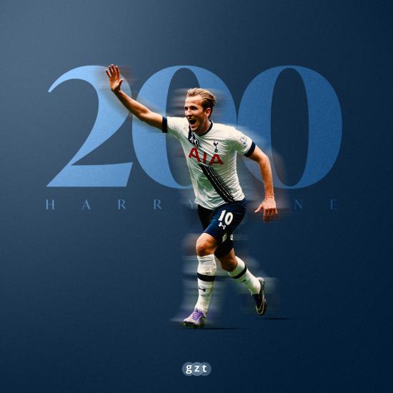 Harry Kane 200. golünü attı