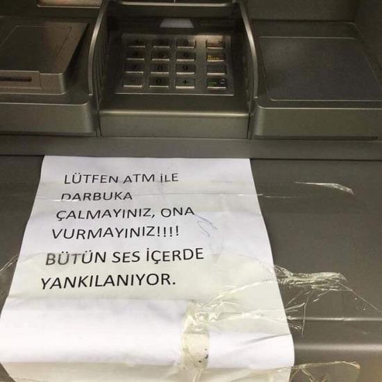 ATM'lerin içinde insan olduğunu biliyorduk