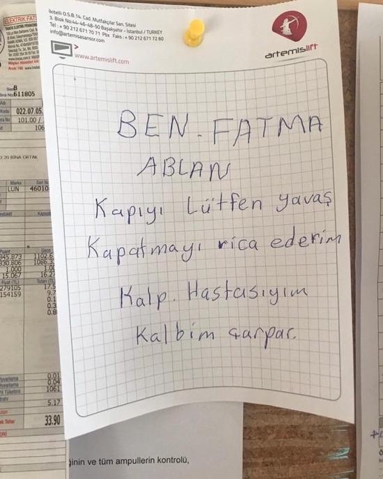 Fatma ablayı üzmeyin lütfen