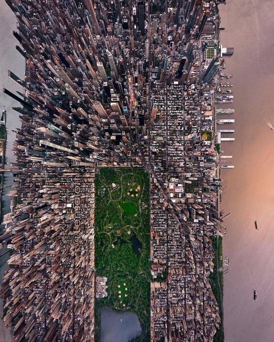 Yükseklerden New York