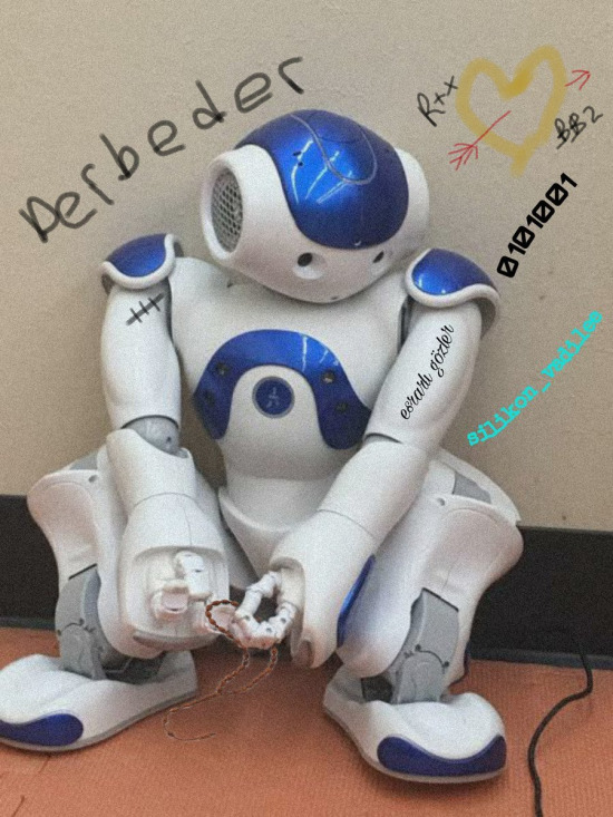 Dünyamıza hoş geldiniz robotlar