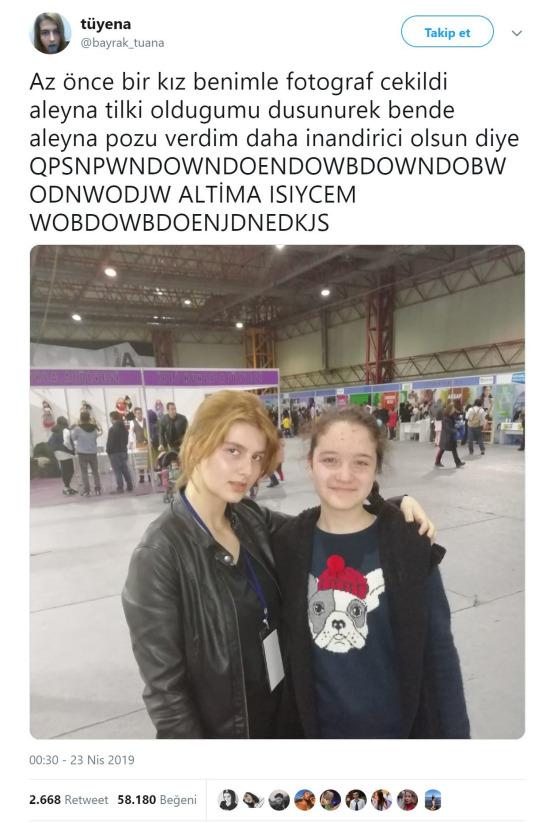 Aleyna Tilki yan çar