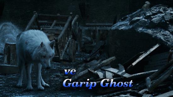 Jon Ghost'a çok ayıp etti