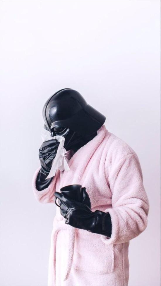 Darth Vader grip olmuş