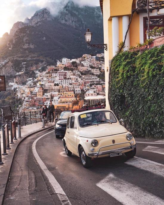 Positano, Amalfi Kıyısı, İtalya