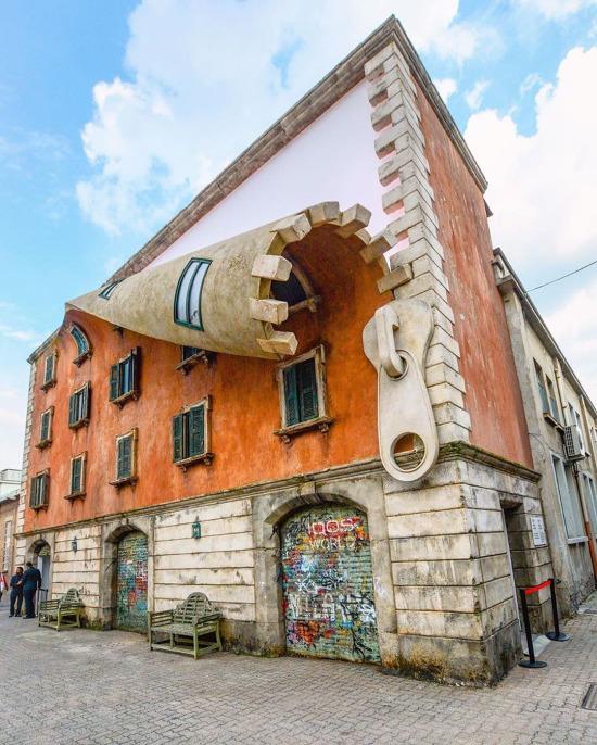 Kentsel sokak sanatı, Milan, İtalya