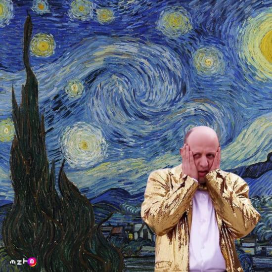Alternatif Van Gogh tablosu