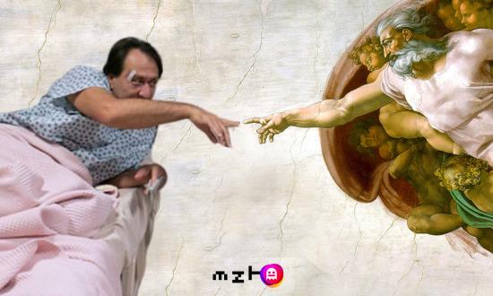 Hüsnü Çoban ve Michelangelo kanka oluyor.... Arka Sokaklar 2450. Bölüm
