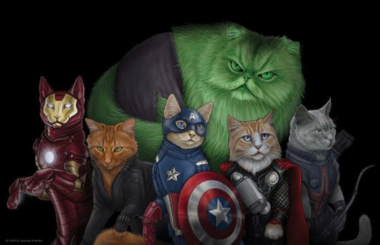 Meow Avengers