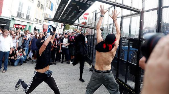 Fransa karıştı: G7 zirvesi olaylı başladı