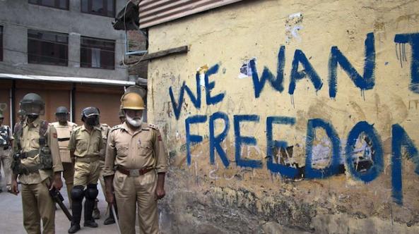 Keşmir'de gözaltındaki çocuklara işkence