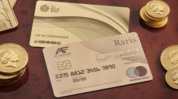 Dünyanın ilk altın banka kartı basıldı: Fiyatı 140 bin TL
