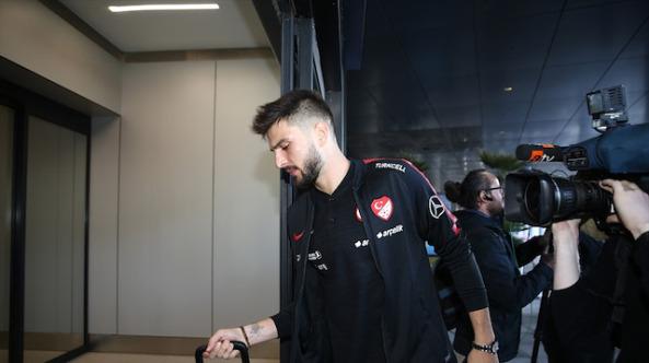 A Milli Futbol Takımı Andorra maçı için İspanya'ya gitti