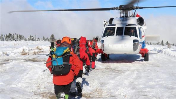 Uludağ'da kaybolan iki dağcıyı arama çalışmaları 10. gününde devam ediyor