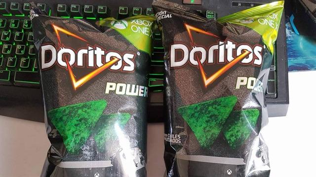 Oyun tutkunlarına özel cips: Xbox temalı Doritos