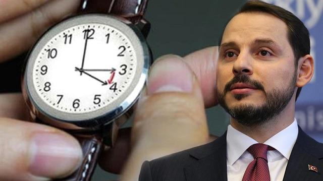 Bakan Albayrak'tan yaz saati açıklaması