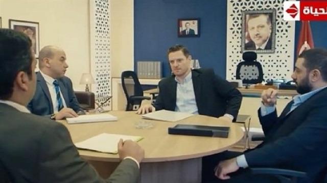 Mısır'da yayınlanan dizi, Cumhurbaşkanı Erdoğan'ı hedef aldı