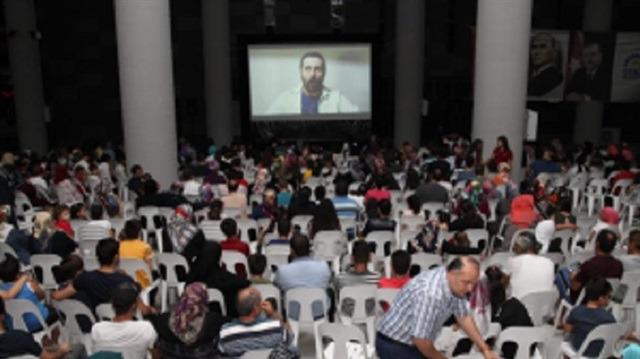 Gebzeliler'in Sinema Pazarı'nda film keyfi sürüyor