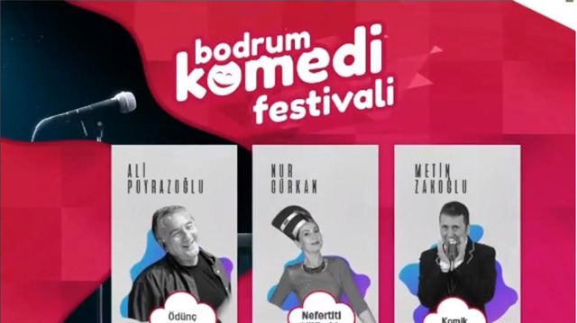 'Bodrum Komedi Festivali' 6 Eylül'de başlıyor