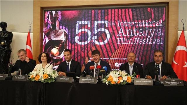 55. Uluslararası Antalya Film Festivali 29 Eylül-5 Ekim'de yapılacak