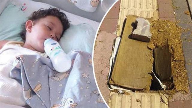21 aylık Aras kardeşiyle birlikte suntayla kapatılan çukura düştü