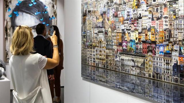 Farklı coğrafyaların sanat çalışmalarını buluşturan fuar: Contemporary İstanbul