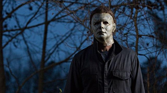 Kült film Halloween için konum zirve