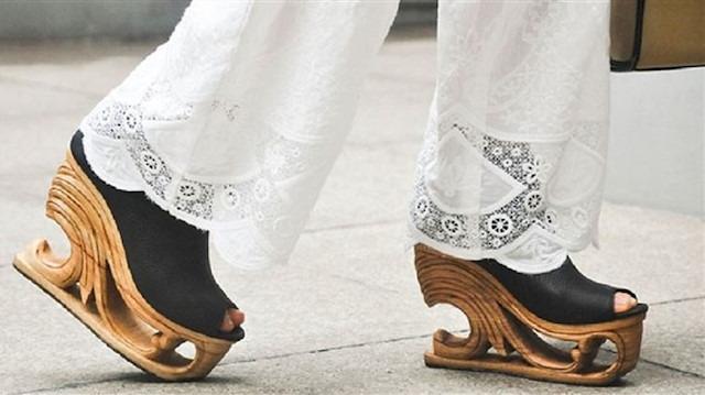 Giymeye kıyamayacağınız sanat eseri gibi ayakkabılar