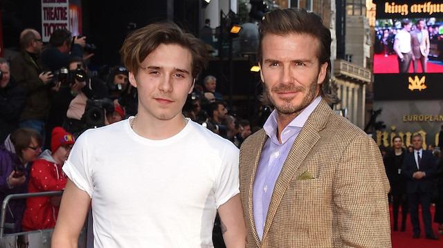 Beckham'ın oğlundan Aleyna Tilki'ye yakın 'takip'