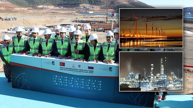 Son yıllarda Türkiye'nin yaptığı en önemli enerji yatırımları
