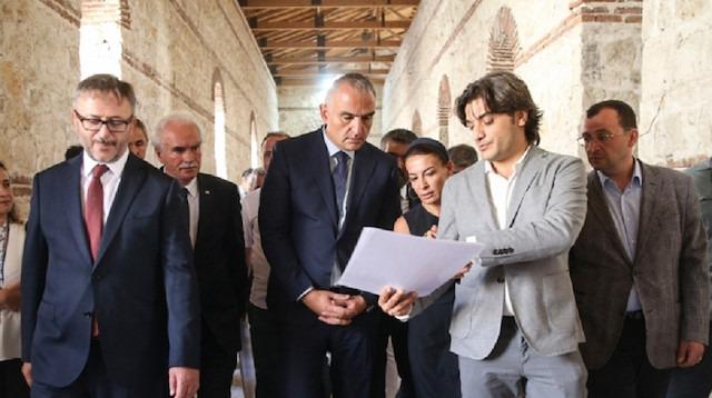 Bakan Ersoy: Yeni AKM'nin temeli şubat ayında atılacak