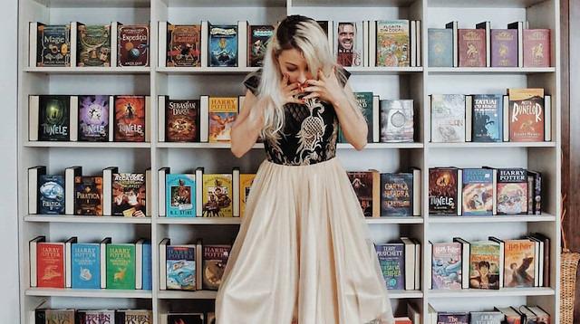 Kitap sevgisini tasarıma döken kadın: Elizabeth Sagan
