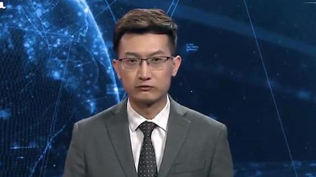 Yapay zekanın son ürünü: 'Robot haber spikeri'