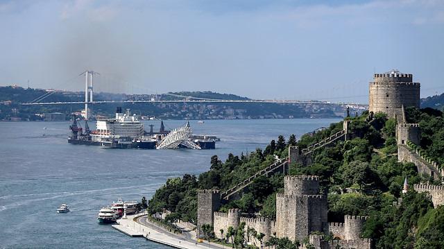 TürkAkım'da tarihi gün: Rus doğalgazı Kıyıköy'den karaya çıkıyor