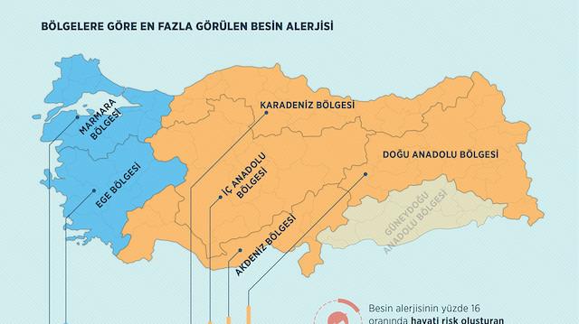 Bölgelere göre Türkiye'nin alerji haritası çıkarıldı