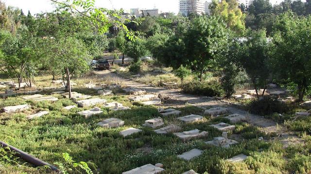 Kudüs'te bir mahzun mezarlık