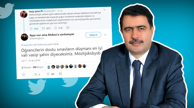 Vasip Şahin Ankara'da tatili açıkladı; İstanbul'dan mesaj yağdı