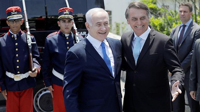 Netanyahu, aradığını Brezilya'da buldu