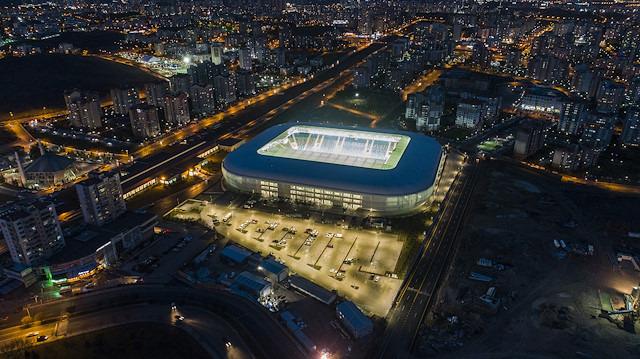 Ankara'nın yeni stadı yarın açılıyor