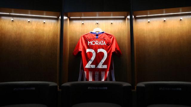 Morata'nın yeni takımı Atletico Madrid