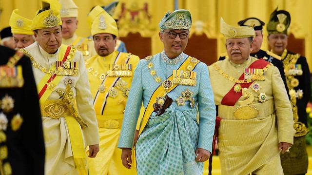 Yeni Malezya Kralı görevine başladı