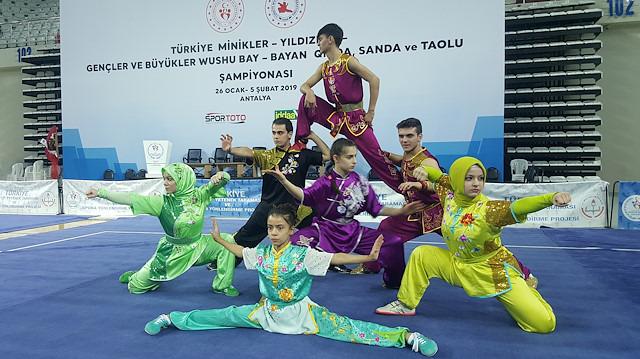 Türkiye Wushu Kung Fu Şampiyonası Antalya'da başladı