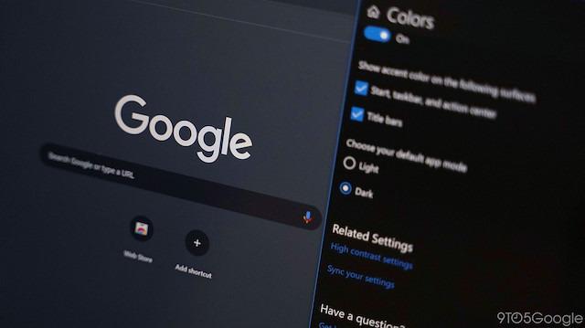 Google Chrome'a karanlık tema özelliği geliyor