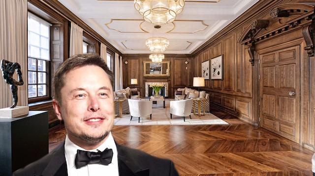 Dahiden satılık: 'Elon Musk'ın müthiş evi satışta'