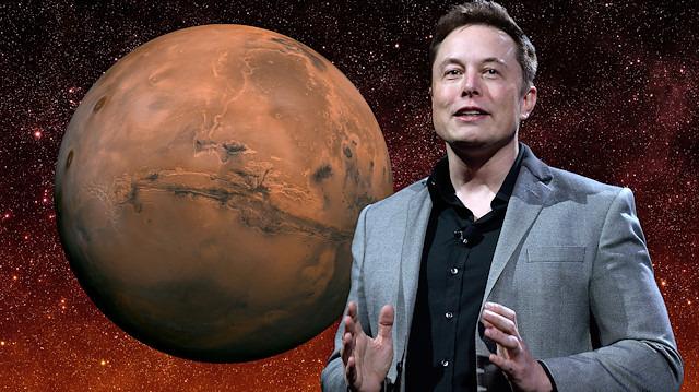 Elon Musk, 'Mars yolculuğunun' bedelini açıkladı: '500.000$'