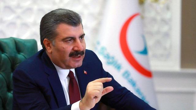 Sağlık Bakanı Fahrettin Koca'dan ilaç açıklaması