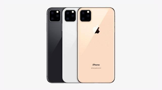 iPhone 11'in arka yüzeyi buzlu camla kaplanabilir